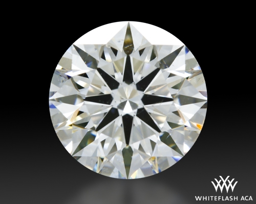1.143 ct G SI1 A CUT ABOVE® Hearts and Arrows Super Ideal Round Cut Loose Diamond