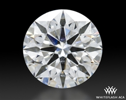 1.198 ct G SI1 A CUT ABOVE® Hearts and Arrows Super Ideal Round Cut Loose Diamond