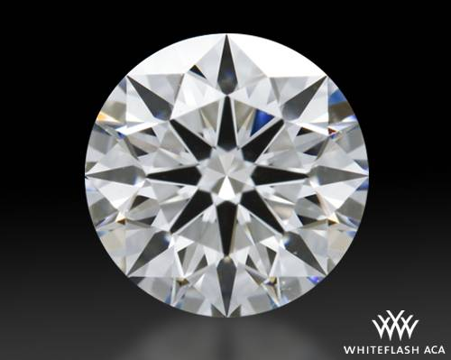 0.83 ct H VS2 A CUT ABOVE® Hearts and Arrows Super Ideal Round Cut Loose Diamond