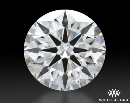 0.735 ct D VS2 A CUT ABOVE® Hearts and Arrows Super Ideal Round Cut Loose Diamond