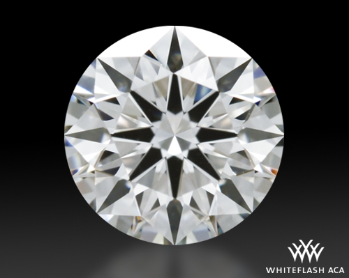 0.725 ct I VS2 A CUT ABOVE® Hearts and Arrows Super Ideal Round Cut Loose Diamond