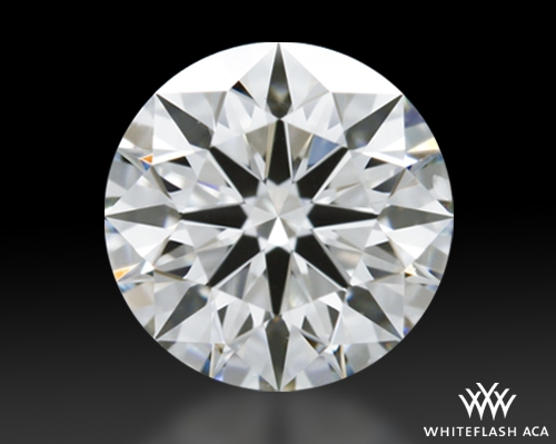 0.845 ct I VS1 A CUT ABOVE® Hearts and Arrows Super Ideal Round Cut Loose Diamond