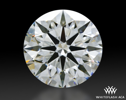 1.498 ct G VS2 A CUT ABOVE® Hearts and Arrows Super Ideal Round Cut Loose Diamond