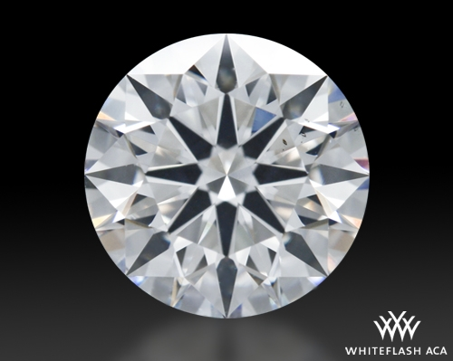 1.603 ct G SI1 A CUT ABOVE® Hearts and Arrows Super Ideal Round Cut Loose Diamond