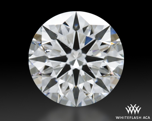 1.605 ct G SI1 A CUT ABOVE® Hearts and Arrows Super Ideal Round Cut Loose Diamond