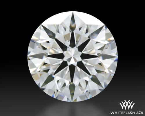 1.108 ct E VS1 A CUT ABOVE® Hearts and Arrows Super Ideal Round Cut Loose Diamond