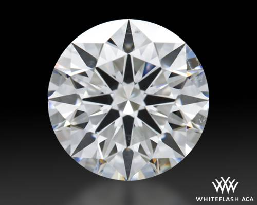 1.504 ct G SI1 A CUT ABOVE® Hearts and Arrows Super Ideal Round Cut Loose Diamond