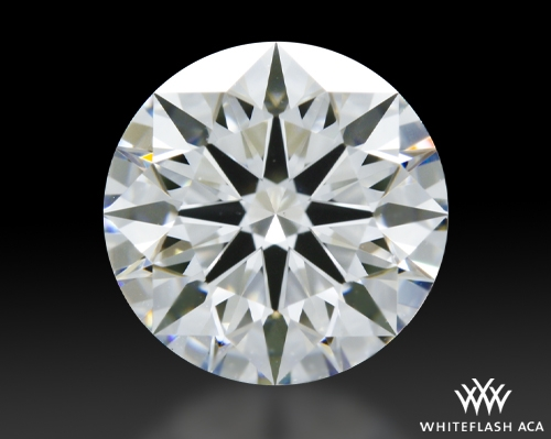 1.537 ct F VS1 A CUT ABOVE® Hearts and Arrows Super Ideal Round Cut Loose Diamond