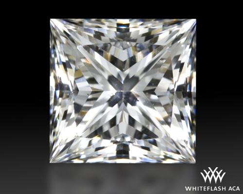 0.723 ct F VS2 A CUT ABOVE® Princess Super Ideal Cut Diamond
