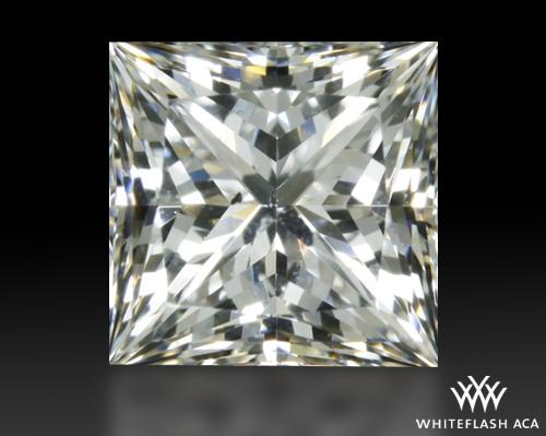 0.747 ct F SI1 A CUT ABOVE® Princess Super Ideal Cut Diamond