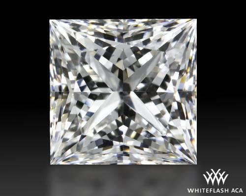 1.013 ct F SI1 A CUT ABOVE® Princess Super Ideal Cut Diamond