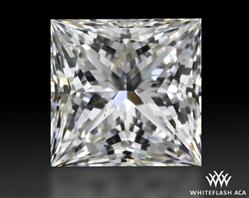 1.033 ct G VS2 A CUT ABOVE® Princess Super Ideal Cut Diamond