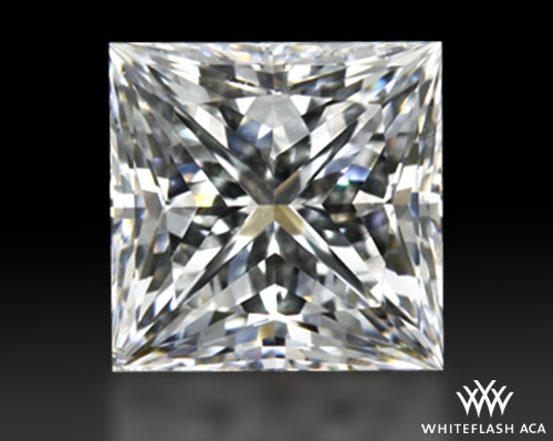 0.517 ct F SI1 A CUT ABOVE® Princess Super Ideal Cut Diamond