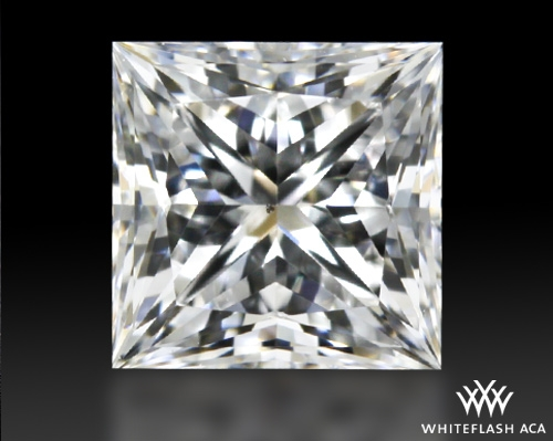 0.516 ct F VS2 A CUT ABOVE® Princess Super Ideal Cut Diamond