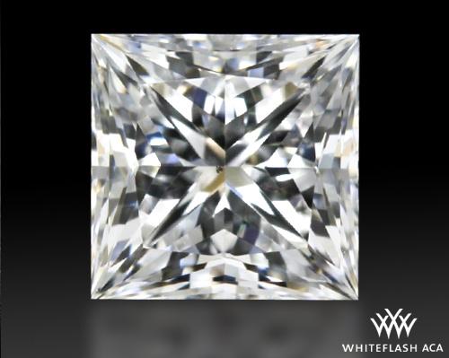 0.516 ct F VS2 A CUT ABOVE® Princess Super Ideal Cut Diamond