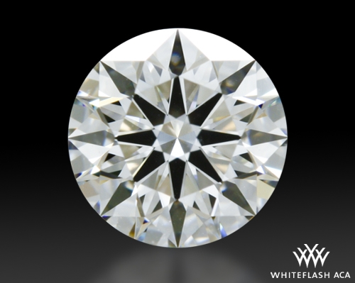 0.553 ct F VS1 A CUT ABOVE® Hearts and Arrows Super Ideal Round Cut Loose Diamond