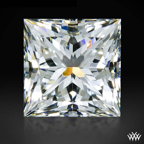 0.722 ct H VS1 A CUT ABOVE® Princess Super Ideal Cut Diamond