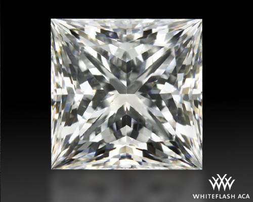 0.71 ct G VS2 A CUT ABOVE® Princess Super Ideal Cut Diamond
