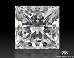 0.714 ct G VS2 A CUT ABOVE® Princess Super Ideal Cut Diamond