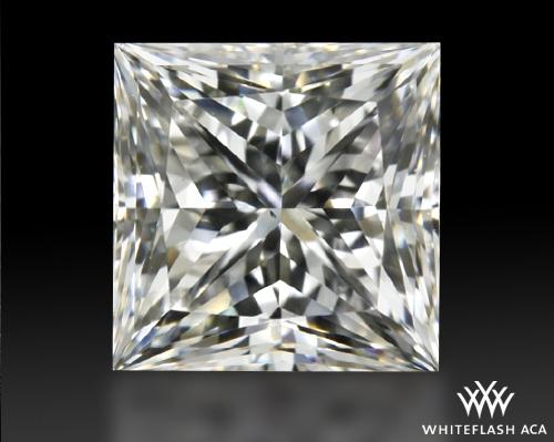 0.738 ct G VS2 A CUT ABOVE® Princess Super Ideal Cut Diamond