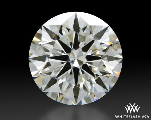 1.207 ct H VS2 A CUT ABOVE® Hearts and Arrows Super Ideal Round Cut Loose Diamond