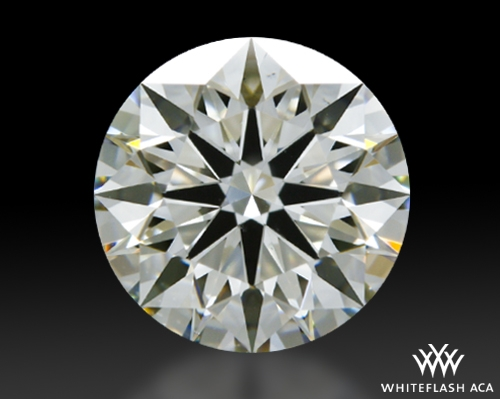 1.324 ct J VS1 A CUT ABOVE® Hearts and Arrows Super Ideal Round Cut Loose Diamond