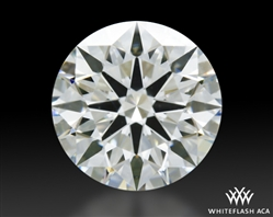 1.518 ct J VS2 A CUT ABOVE® Hearts and Arrows Super Ideal Round Cut Loose Diamond