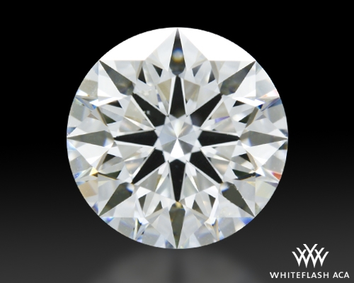 2.361 ct H SI1 A CUT ABOVE® Hearts and Arrows Super Ideal Round Cut Loose Diamond