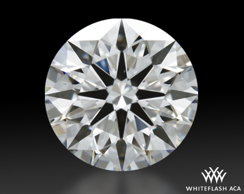 0.924 ct I VS1 A CUT ABOVE® Hearts and Arrows Super Ideal Round Cut Loose Diamond