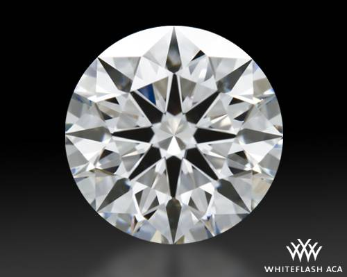 1.26 ct H VS1 A CUT ABOVE® Hearts and Arrows Super Ideal Round Cut Loose Diamond