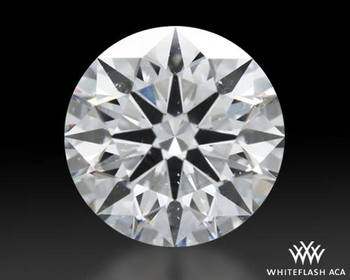 1.282 ct H SI1 A CUT ABOVE® Hearts and Arrows Super Ideal Round Cut Loose Diamond