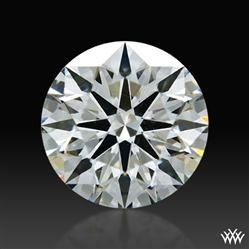 1.213 ct H SI1 A CUT ABOVE® Hearts and Arrows Super Ideal Round Cut Loose Diamond
