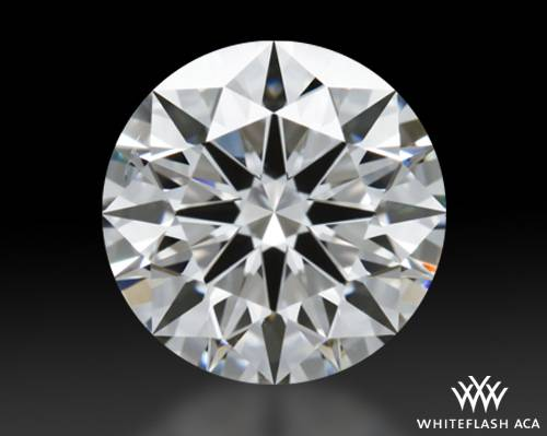 1.221 ct H SI1 A CUT ABOVE® Hearts and Arrows Super Ideal Round Cut Loose Diamond