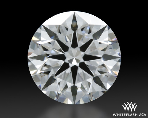 0.821 ct F SI1 A CUT ABOVE® Hearts and Arrows Super Ideal Round Cut Loose Diamond