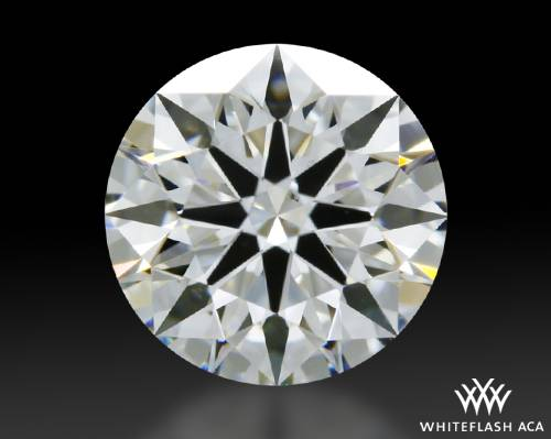 1.128 ct G VS2 A CUT ABOVE® Hearts and Arrows Super Ideal Round Cut Loose Diamond