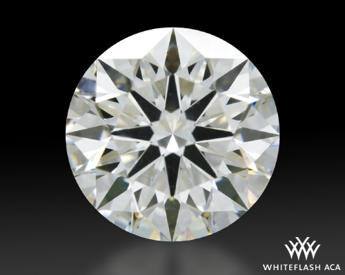 1.091 ct H VS1 A CUT ABOVE® Hearts and Arrows Super Ideal Round Cut Loose Diamond