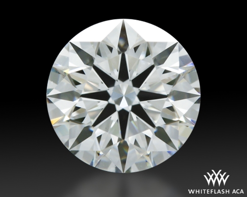 1.123 ct I VVS2 A CUT ABOVE® Hearts and Arrows Super Ideal Round Cut Loose Diamond