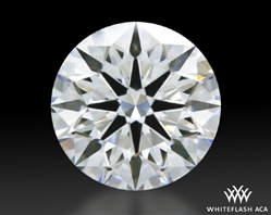 1.162 ct D VS1 A CUT ABOVE® Hearts and Arrows Super Ideal Round Cut Loose Diamond