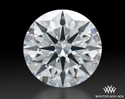 1.578 ct G SI1 A CUT ABOVE® Hearts and Arrows Super Ideal Round Cut Loose Diamond