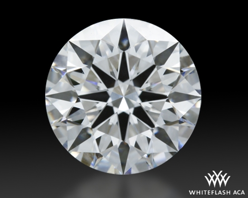 1.293 ct E VS1 A CUT ABOVE® Hearts and Arrows Super Ideal Round Cut Loose Diamond