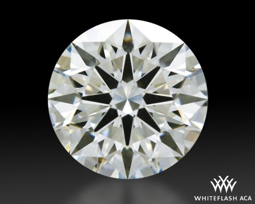 1.548 ct H VS2 A CUT ABOVE® Hearts and Arrows Super Ideal Round Cut Loose Diamond