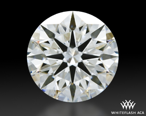 1.158 ct H VS2 A CUT ABOVE® Hearts and Arrows Super Ideal Round Cut Loose Diamond