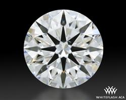 1.161 ct E VS1 A CUT ABOVE® Hearts and Arrows Super Ideal Round Cut Loose Diamond