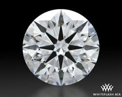 0.921 ct D VVS2 A CUT ABOVE® Hearts and Arrows Super Ideal Round Cut Loose Diamond