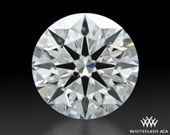 0.96 ct F SI1 A CUT ABOVE® Hearts and Arrows Super Ideal Round Cut Loose Diamond