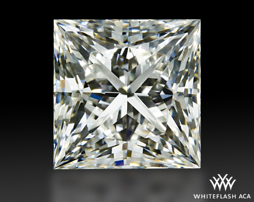 0.85 ct H VVS2 A CUT ABOVE® Princess Super Ideal Cut Diamond