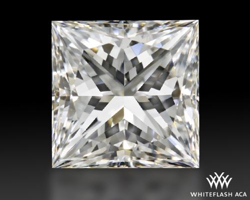 1.105 ct F VVS2 A CUT ABOVE® Princess Super Ideal Cut Diamond