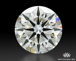 1.28 ct I SI1 A CUT ABOVE® Hearts and Arrows Super Ideal Round Cut Loose Diamond
