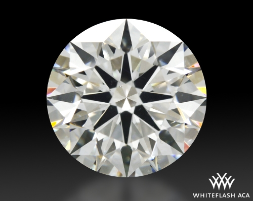 1.706 ct I SI1 A CUT ABOVE® Hearts and Arrows Super Ideal Round Cut Loose Diamond