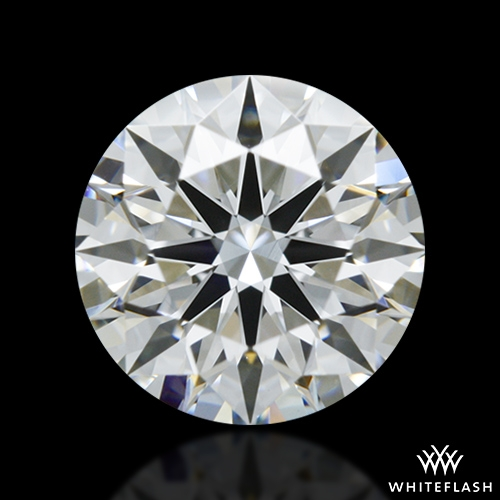 0.836 ct G VS1 A CUT ABOVE® Hearts and Arrows Super Ideal Round Cut Loose Diamond